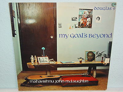 "***MAHAVISHNU JOHN McLAUGHLIN""MY GOAL'S BEYOND""-12""Inch Douglas France Imp.LP***"