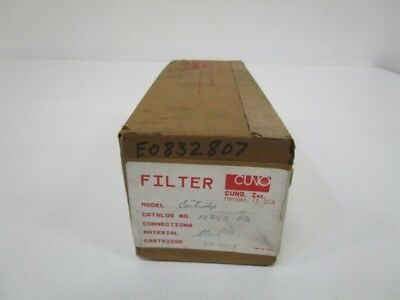 Cuno Filter 12840.03 *factory Sealed*