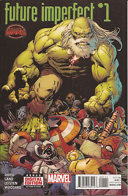 Future Imperfect #1 Marvel Secret Wars Battleworld Maestro Hulk Peter David VF