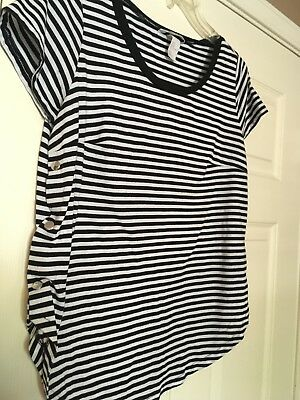 H&M MAMA Nursing top (M) with side snaps