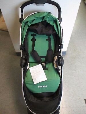 Recaro Denali Luxury Travel System - Stroller And Car Seat - Fern - Rc 4678