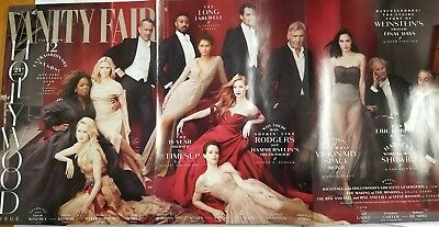 New Vanity Fair Magazine Hollywood 2018 Oprah Winfrey, Nicole Kidman, Tom Hanks