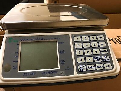 Lightly USED!  Tree MCT PLUS Counting Scale - 3 lbs x 0.0001 lb