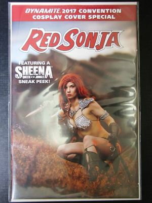Red Sonja 2017 Cosplay Cover - March 2018 - Dynamite Comics # 8J75