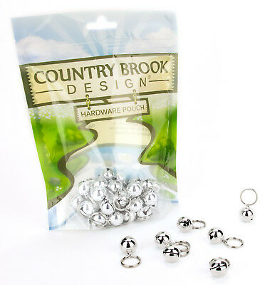 25 - Country Brook Design® 1/2 Inch Cat Jingle Bells