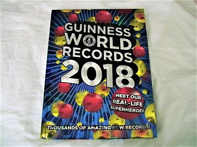 Guinness World Records 2018 by Guinness World Records (Hardback, 2017)