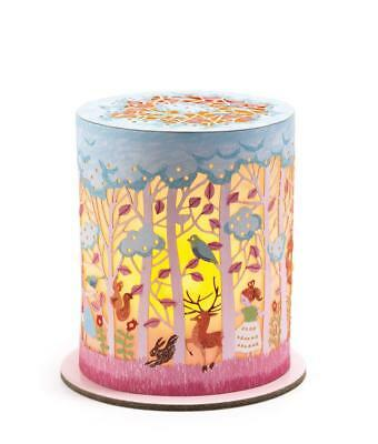 NEW Djeco Childrens Mini Night Light - Forest