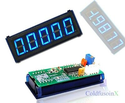4-1/2 Digital Blue LED 2V Meter
