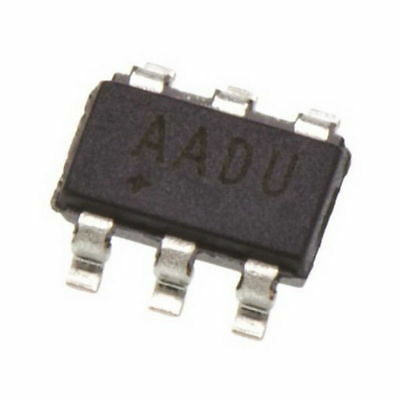 5 Pcs MAX16054AZT SOT23-6 MAX16054 AADU On/Off Controller With Debounce