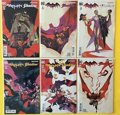 BATMAN THE SHADOW issues #1 2 3 4 5 6 Complete DC Comics Series NM Riley Rossmo