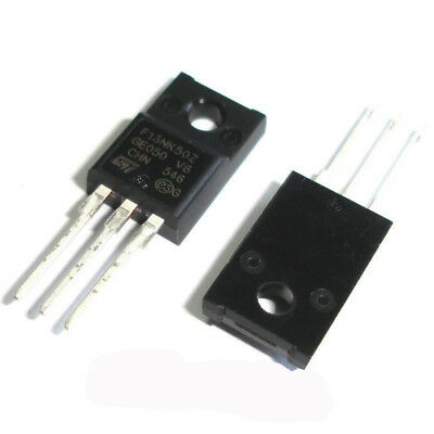 10 Pcs STF13NK50Z TO-220F F13NK50Z STF13NK50 Supermeshtm Power Mosfet