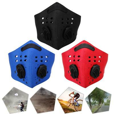 Neoprene Anti Dust Filter Half Face Mask for Motorcycle Cycling Bicycle Bike Ski