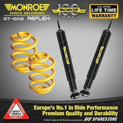 Rear Lowered Monroe Shock Absorbers King Springs For BMW E36 320i 323i 325i 328i