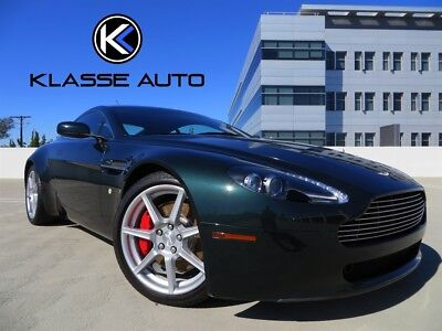 2006 Aston Martin Vantage Base Hatchback 2-Door 2006 Aston Martin Vantage 6 Speed Manual Coupe Low Price Serviced Clean Car Wow