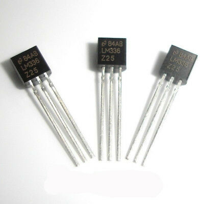 100 Pcs LM336Z-2.5 TO-92 LM336 2.5V Voltage References Reference Diode