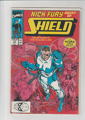 Nick Fury, Agent of SHIELD #13 (1990, Marvel)  NM-