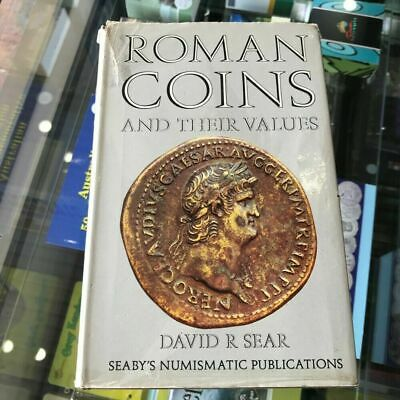1970 Roman Coins and their Values by David R Sear Hardcover Revised Edition