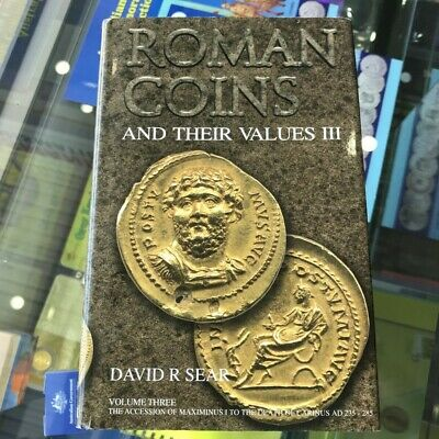 2005 Roman Coins and their Values by David R Sear Vol.3 Hardcover