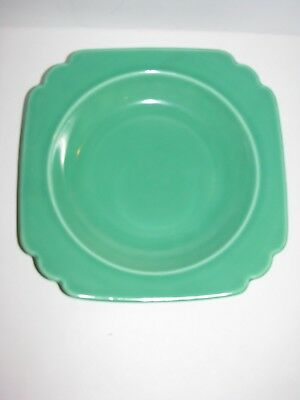 Riviera, Homer Laughlin, Vintage, Round Cereal Soup Bowl, Fiestaware Light Green