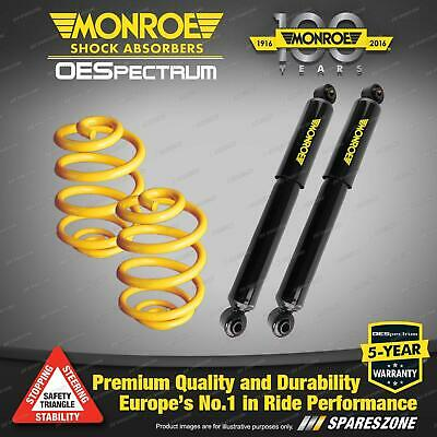 Rear Lowered Monroe Shock Absorbers King Springs FORD TERRITORY SX SY SZ RWD Wgn