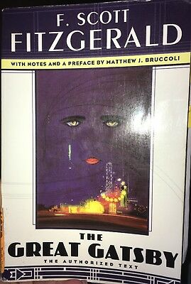 The Great Gatsby by F. Scott Fitzgerald (1995, Paperback, Reprint)