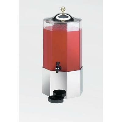 Cal-Mil - 152-SS - 3 gal Octagon Beverage Dispenser