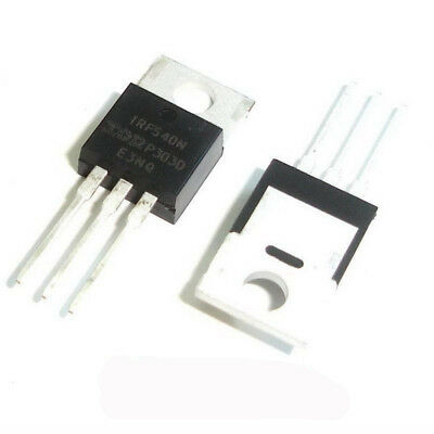 50 Pcs IRF540N TO-220 IRF540 N-CHANNEL Power Mosfets