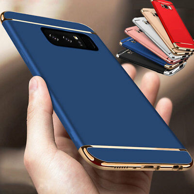 For Samsung Galaxy Note 8 Luxury Ultra Thin Armor Hybrid Slim Hard Case Cover