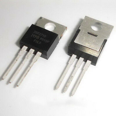 50 Pcs IRF3710 TO-220 F3710 Power MOSFET 57A 100V