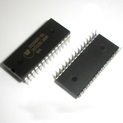 10 Pcs UT62256CPC-70LL DIP-28 62256 Low Power Cmos Sram