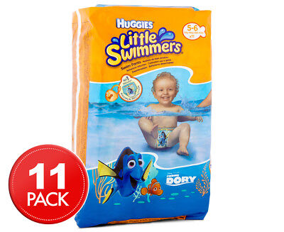 Huggies Litte Swimmers Nappies 12kg-18kg 11pk