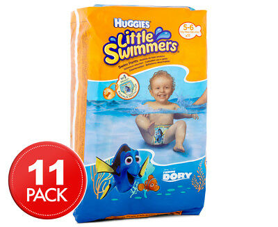 Huggies Little Swimmers 12kg-18kg 11pk Nappies
