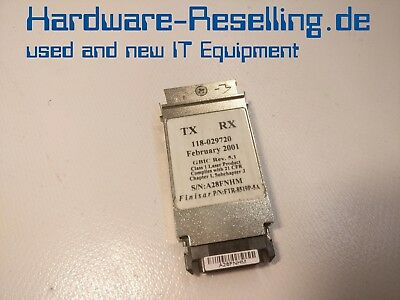 Finisar FTR-8519P-5A 118-029720 1000Base-SX 850nm 1Gbps GBIC Transceiver