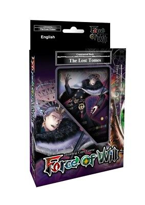Force of Will: Reiya Cluster - Stater Deck Wave 2 The Lost Tomes *IN HAND NOW*