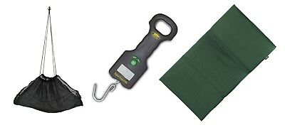 Lineaeffe  Digital Scales & Weigh net Sling combo + mat Carp & Coarse Fishing