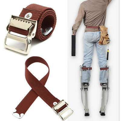 Stilts Comfort Straps Drywall Leg Band Straps Kit Hook and Loop Canvas Woven