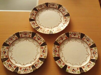 "VINTAGE X3 MELBA WARE BONE CHINA CAKE / SIDE / DESSERT PLATES ~ Roughly 7"" A"