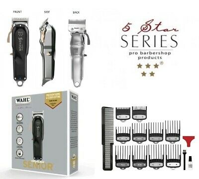 Wahl Professional 5 Star Senior Cordless Hair Clipper *uk Plug*