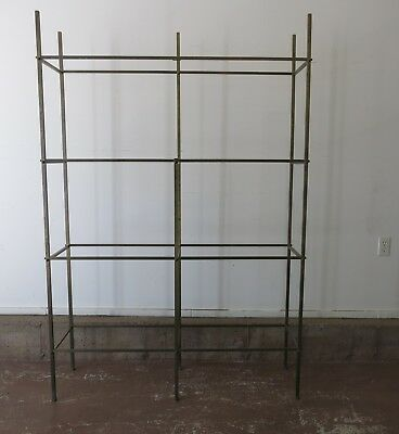 Vintage Brass and Bronze Etagere after Paul McCobb