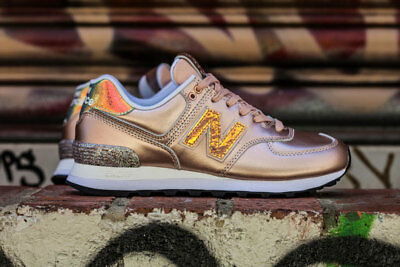 New Balance Limited Edition Oro Sneakers Donna Wl574Nrg