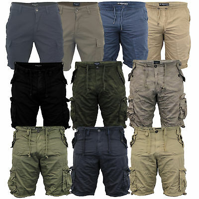 Mens Camo Shorts Brave Soul Combat Cargo Military Army Seven Series Summer New