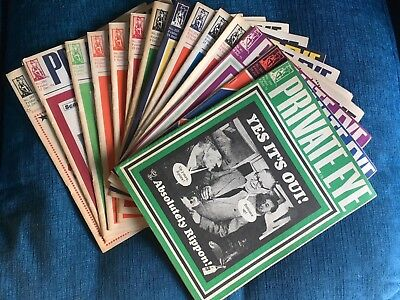 Private Eye Magazines X 14 All From 1971 All In Good Condition