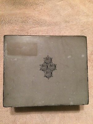 Vintage Litho Lithographic Antique Collectable Printing Stone Block No Reserve