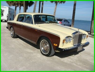 1980 Rolls-Royce Silver Shadow  1980 Rolls-Royce Silver Shadow 1 Owner 74K Miles One Of The Last Shadows Built