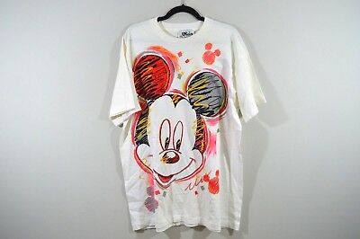 Vintage 90s MICKEY by Jerry Leigh Mens One Size Walt Disney Big Mickey Shirt