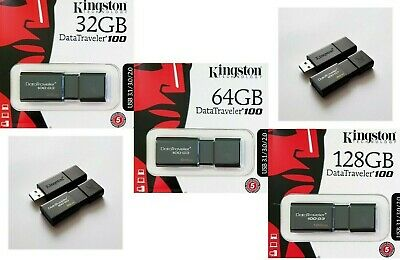 Kingston DataTraveler USB 3.0/3.1 Stick 16GB 32GB 64GB Kingston DT100G3 USB 3.0