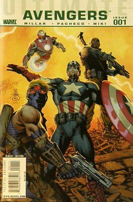 Ultimate Comics Avengers (Vol 1) #   1 Near Mint (NM) Marvel Comics MODERN AGE