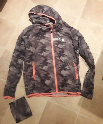 jaked unisex camo running jacket small