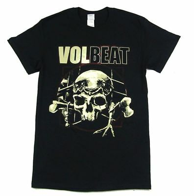 Volbeat Room 24 Tour North America 2014 Black T Shirt New Official Band Merch