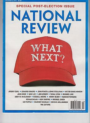 Donald Trump The National Review Magazine December 5 2016 No Label What Next?